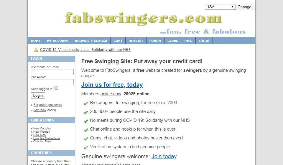 The FabSwingers Avis 2021