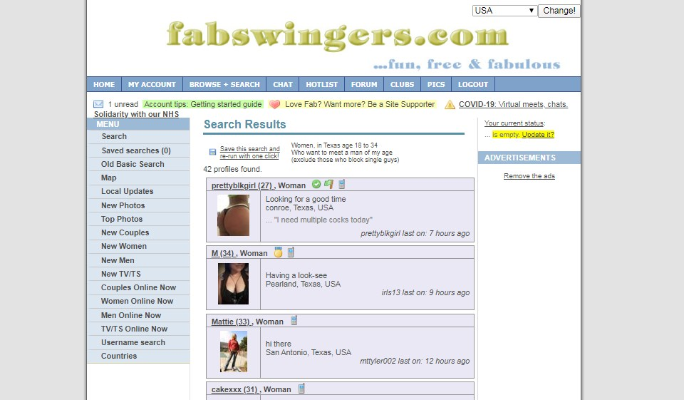 The FabSwingers Review - Update September 2020, Legit or