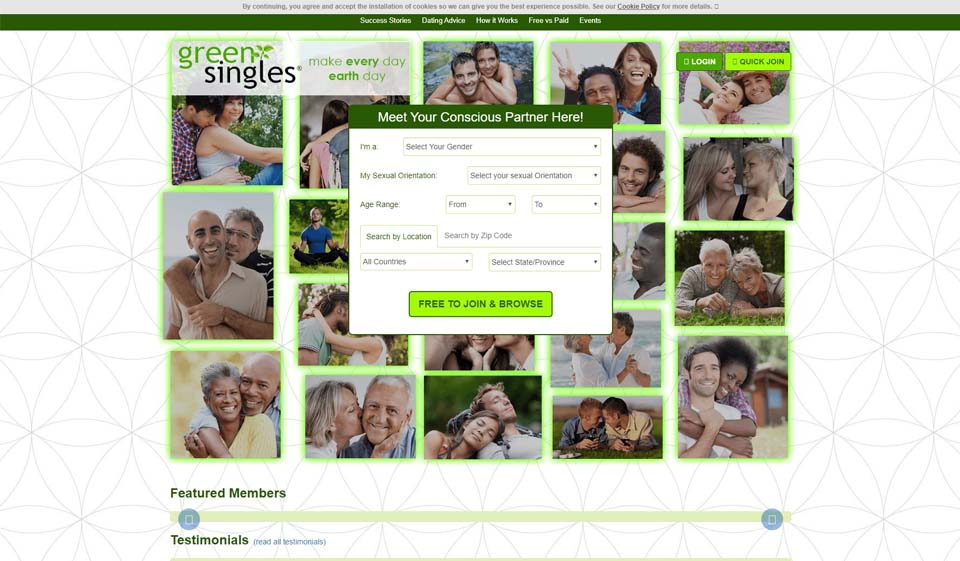 Green Singles Avis 2021