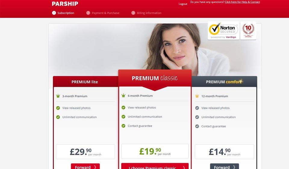Parship Premium Classic